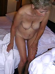 Mature nipples, Lady, Lady b
