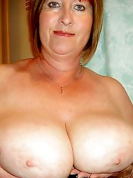 Mature boobs, Mature blonde