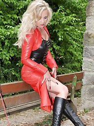 Red, Leather