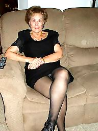 granny in stockings mature