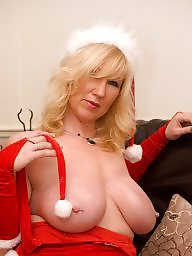Mature, Mature blonde, Blonde, Blonde granny, Mature boobs