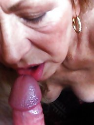 Cock sucking, Amateur mature, Mature blowjob, Sucking, Tit sucking, My wife