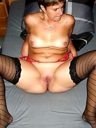 Mature stockings, Hairy mature, Mature stocking
