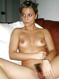 Brunette hairy