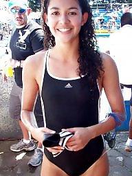 Swim, Latin teen, Swimming, Latin