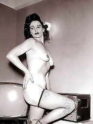 Vintage mature, Chubby mature
