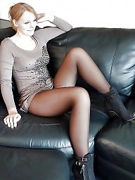 Upskirt stockings, Leggings