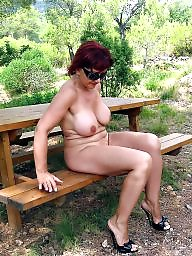 Mature nude, Outdoor, Mature outdoor, Nude, Mature outdoors, Outdoor mature