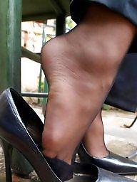 Feet, Amateur stockings