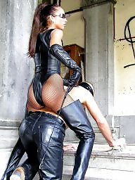 Mature leather, Mature latex, Boots, Pvc, Mature pvc, Mature boots