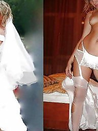 Dressed undressed, Brides, Undress, Dressed, Bride, Dressing
