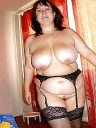 Sexy bbw in stockings