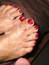 Mature feet, Feet, Red, Feet mature