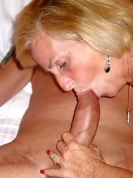Granny blowjob, Cock, Amateur mature, Sucking, Mature blowjob, Suck