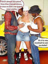 Interracial captions, French caption, French, French captions, Riding, Captions