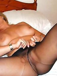 Spread, Open pussy, Amateur pussy, Spreading, Pussy, Stockings