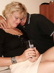 Polish milf, Polish, Threesome, Amateur threesome