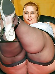 Bbw stockings, Bbw stocking, Secretary