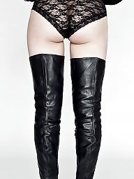 Boots, Leather boots, Femdom, Boot