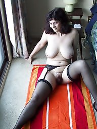 Amateur mature, Mature stocking, Mature stockings, Mature tits, Wanking