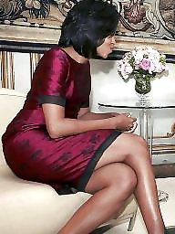 Ebony milfs, Ebony milf, Michelle, Leg, Milf legs, Sexy milf