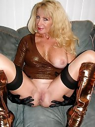 Sexy mature, Mature stockings, Amateur mature