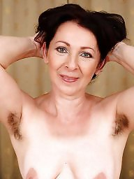 Hairy armpit, Mature hairy