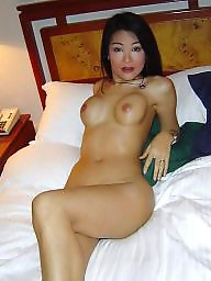 Asian, Fake tits, Fakes