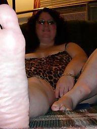 Feet, My wife, Fat, Bbw feet, Bbw wife