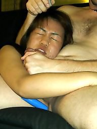 Asian, Sucking, Asian amateur