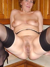 Hairy mature, Mature hairy, Shaved mature