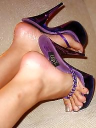 Thong, Feet, High heels, Heels, High heel