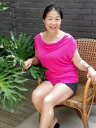 Asian mature, Mature asian, Housewife