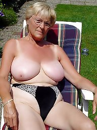 Mature beach, Granny beach, Swimsuit, Granny, Hairy granny