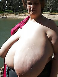 huge Mature saggy tits bbw