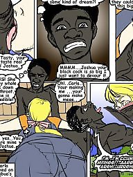 Cartoon, Cartoons, Interracial