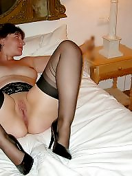 stocking spreading Mature