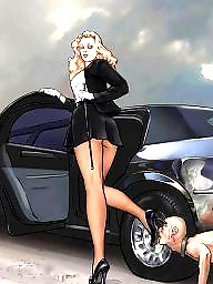 Femdom cartoon, Cartoon bdsm, Cartoon, Bdsm cartoons, Femdom cartoons, Cartoons
