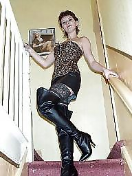 Amateur boots, Boots, Basque, Costume, Pvc