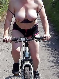 Bike, Flashing, Public, Public flashing, Public nudity