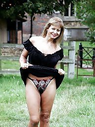 Outdoor, Public mature, Uk mature, Mature outdoor, Mature outdoors, Outdoor mature