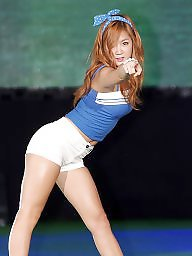 Popping, K pop, Asian celebrities, Asian celebrity, Asian camel toes, Asian camel toe
