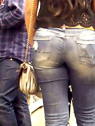 Hidden cam, Jeans, Jeans ass, Teen ass, Teen jeans, Butt