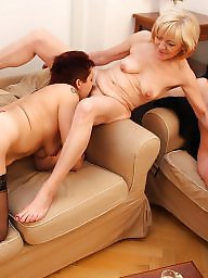 Old young, Mother, Mature group, Young, Group sex, Share