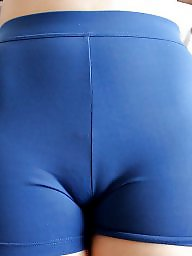 Spandex, Big booty, Big ass, Yoga, Lycra, Shorts