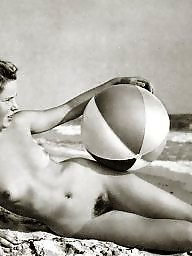 Vintage boobs, Naturists, Vintage