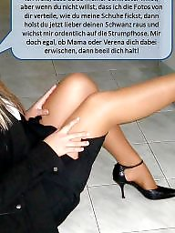Stockings femdom, Stockings captions, Stockings caption, Nylons femdom, Nylon amateurs, Nylon captions