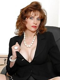 Lady sonia, Lady b, Secretary, Sonia, Mature stockings, Stockings