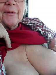 Granny boobs, Granny amateur, Granny