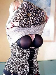 Mature stockings, Lady